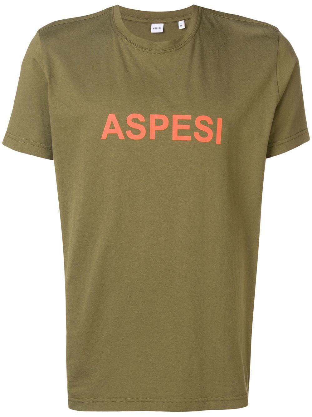 f661ef03f05612 Aspesi T-Shirt Mit Rundem Ausschnitt - GrüN In Green