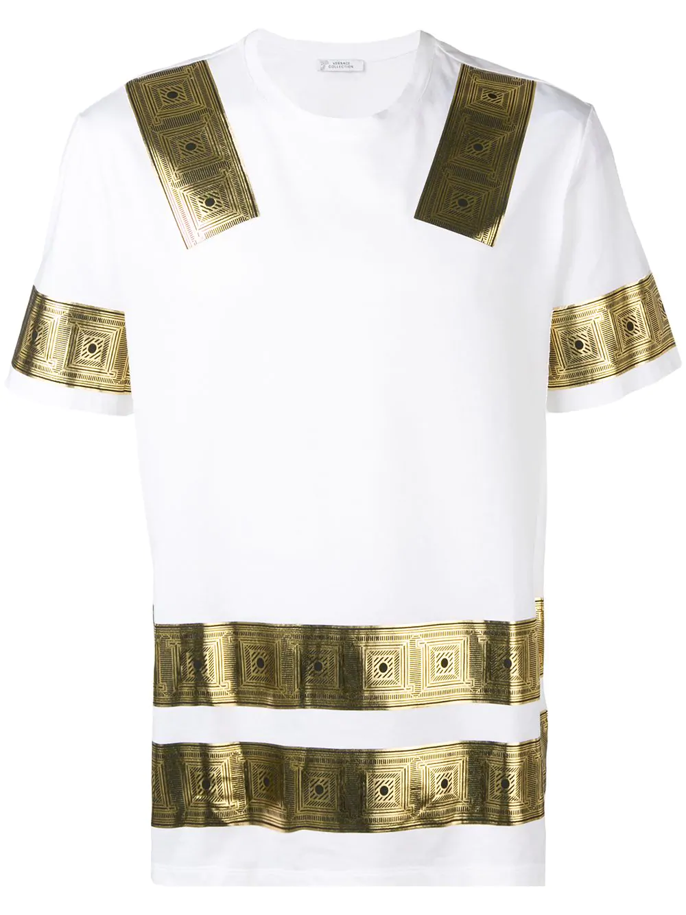 5785048209d Versace Printed T-Shirt In White
