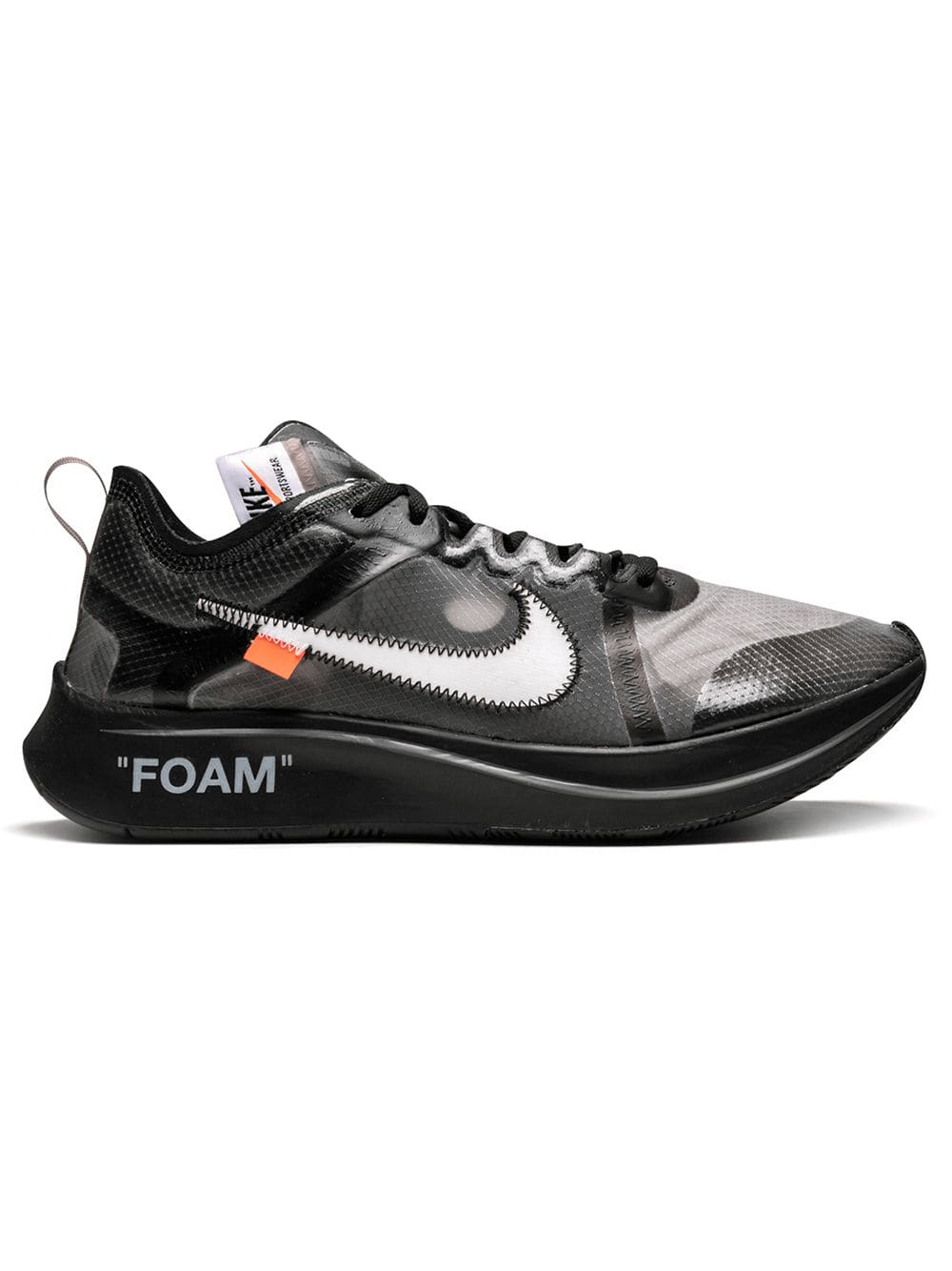 635e9ed3d3a Nike X Off White  The 10  Zoom Fly  Sneakers - Schwarz In Black. Farfetch