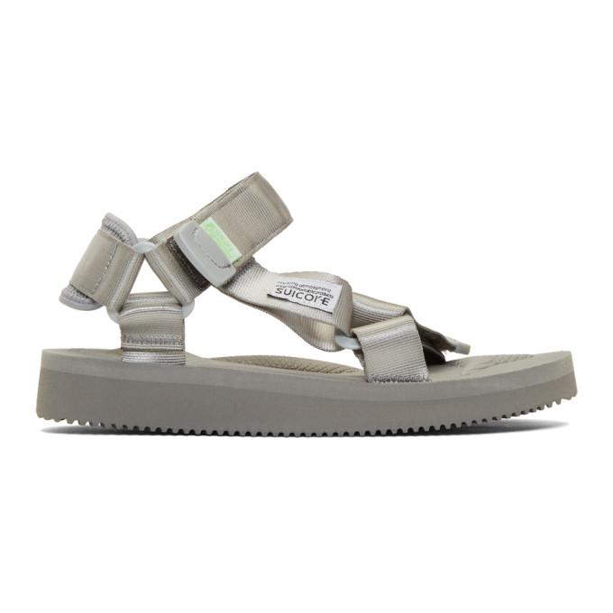 c5393542b7a Suicoke Ssense Exclusive Grey Tonal Sole Depa-Cab Sandals