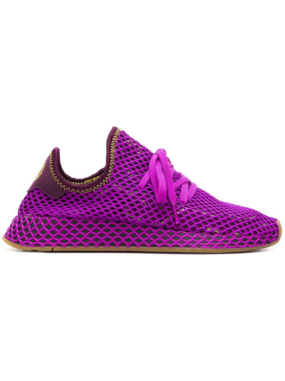 Adidas Dragon Ball Z Deerupt Sneakers - Purple