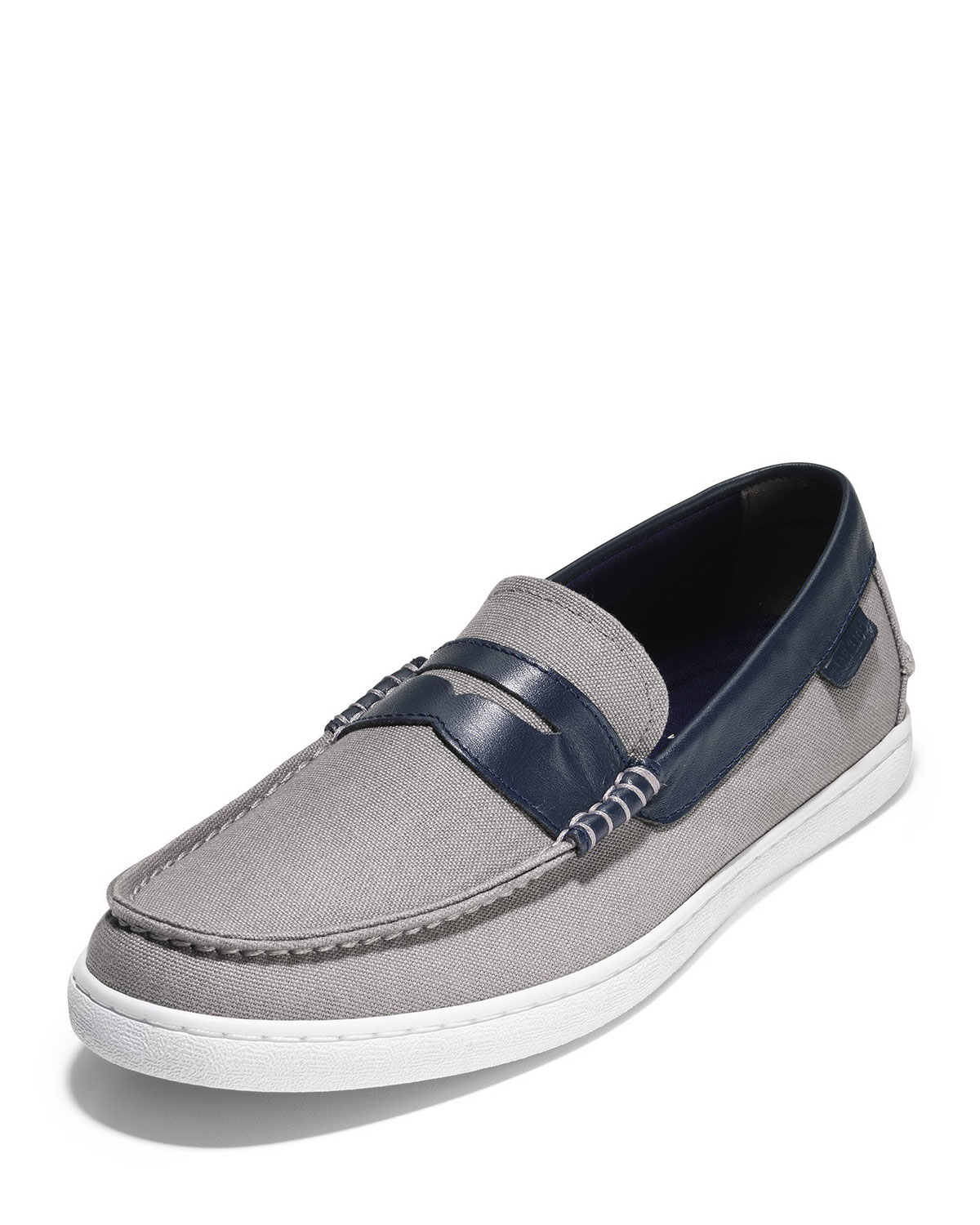 47f35d42787 Cole Haan Men s Nantucket Canvas Penny Loafers