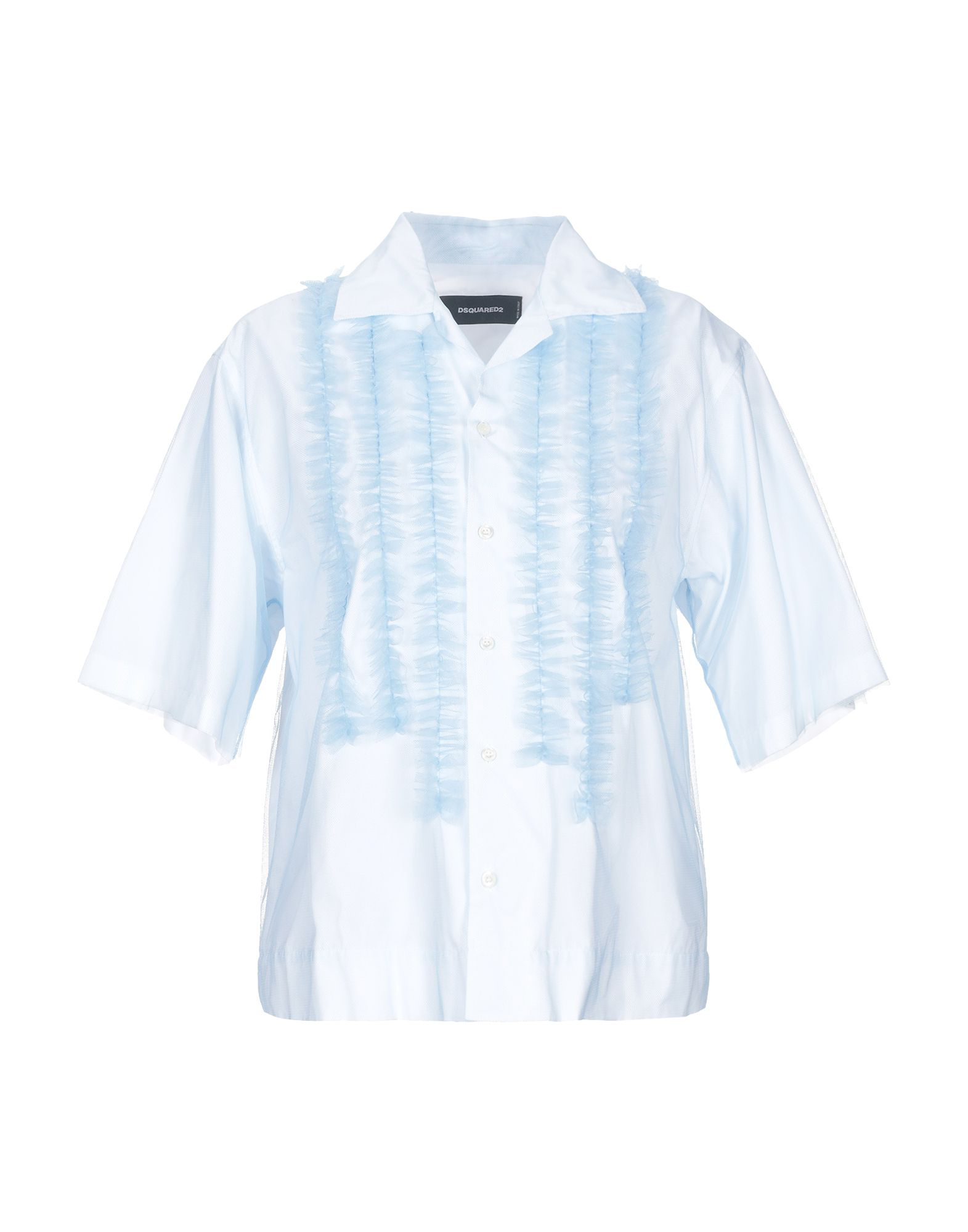 16bcb1410dddf Dsquared2 Shirts In Sky Blue