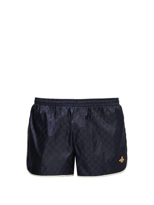 70bcbeeaf799 Gucci - Gg Quick Drying Swim Shorts - Mens - Blue Multi