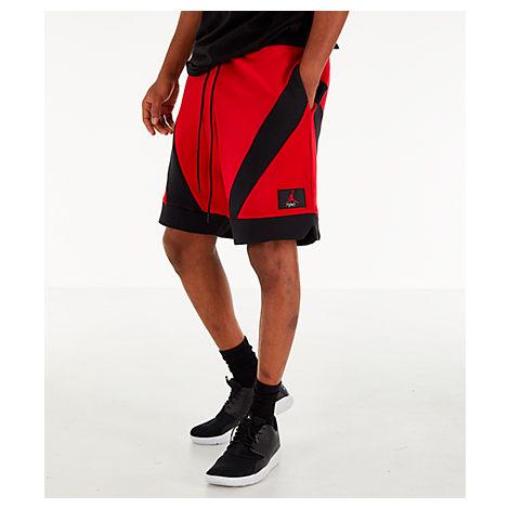 f3e2d1b011c Nike Men's Jordan Flight Loop Training Shorts, Red | ModeSens