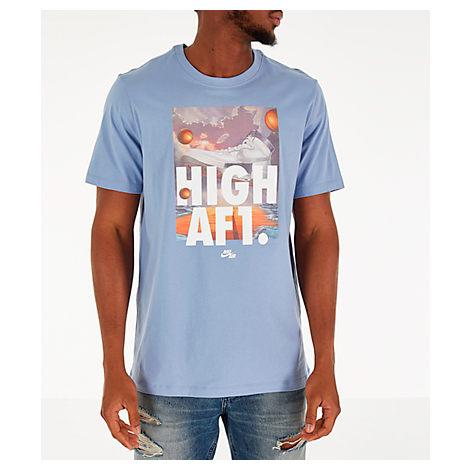 c54fe56f Nike Men's Sportswear Af1 T-Shirt, Blue | ModeSens