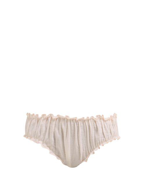 8c280e4a53a2 Loup Charmant - Bloomer Organic Cotton Briefs - Womens - Pink | ModeSens