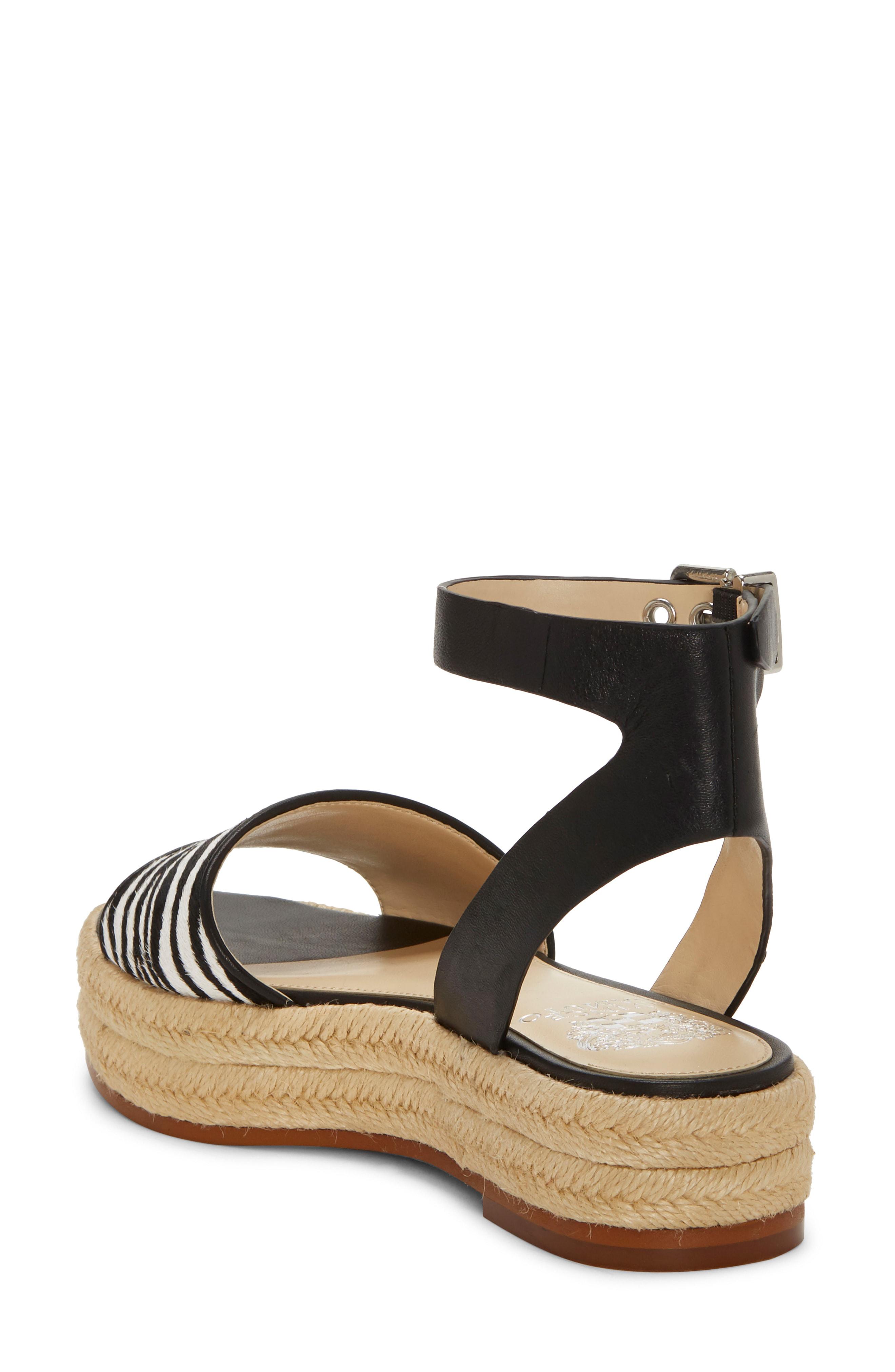5b18b85a808 Vince Camuto Kathalia Platform Sandal In Gold Fabric