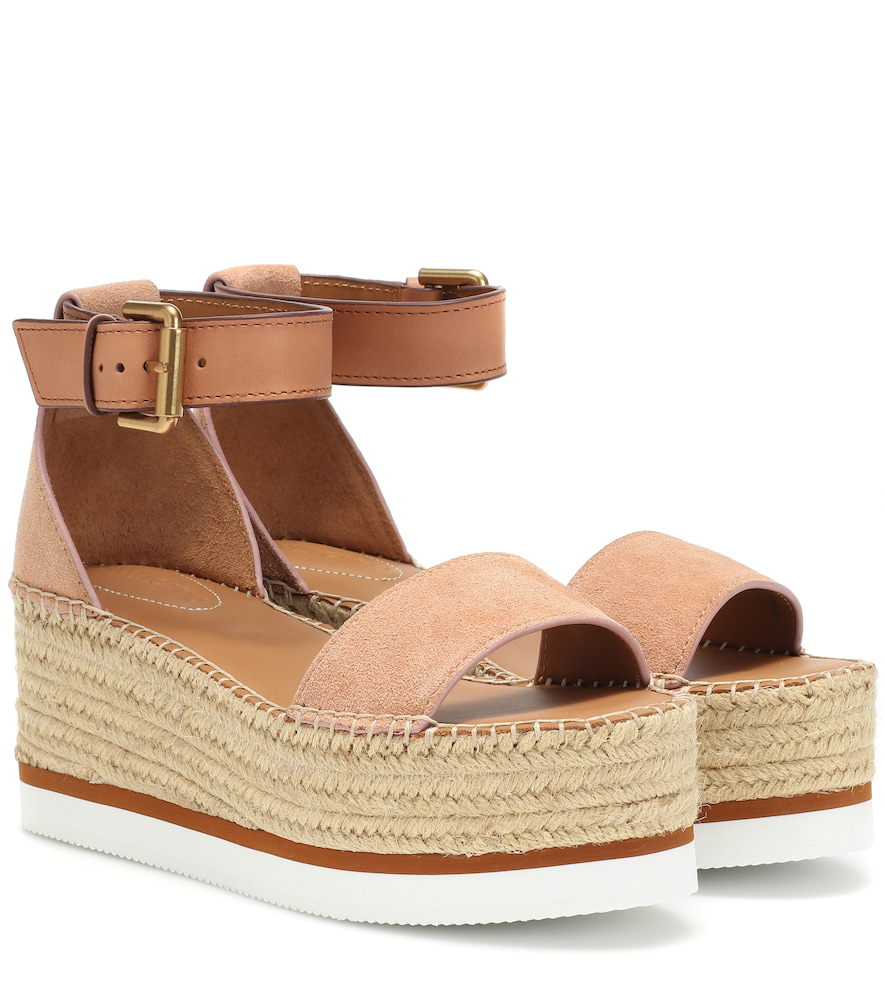 Chloé In By Espadrille Tkjf13cl Pinkmodesens See Sandals Glyn Wedge OPkn0w