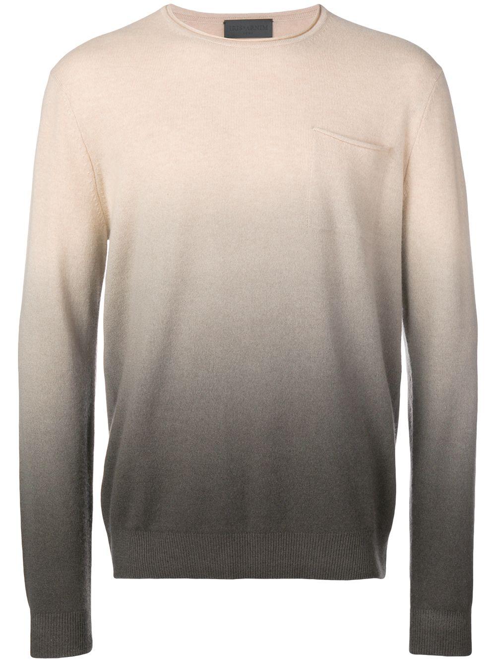 1d4d9b26637a Iris Von Arnim Ombre Fine Knit Sweater - Neutrals