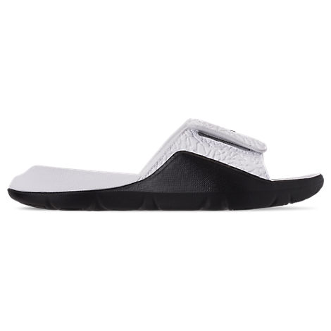 huge discount 2a7a7 f1ffd Nike Men s Jordan Hydro 7 V2 Slide Sandals, White
