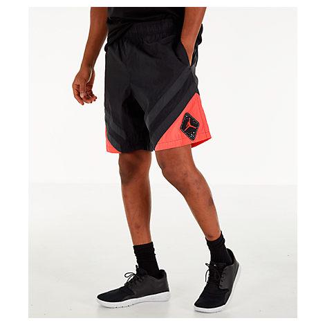 10b609c0d1a6 Nike Men s Air Jordan Retro 6 Sport Legacy Nylon Basketball Shorts ...