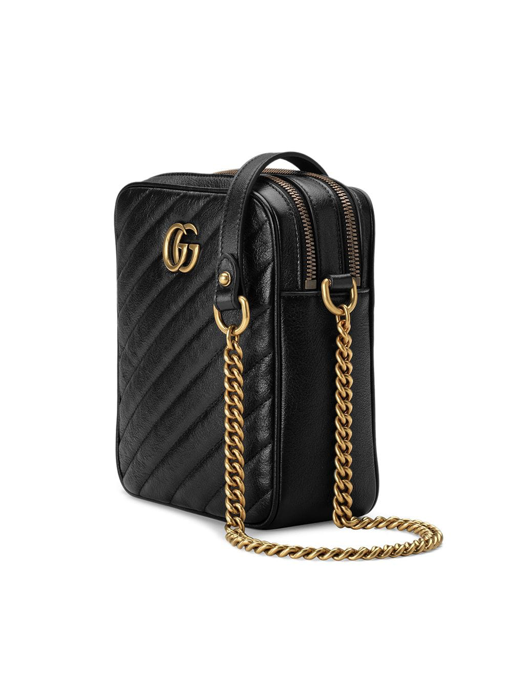 d806d115b Gucci Gg Marmont 2.0 MatelassÉ Leather Mini Backpack In 1000 Black ...