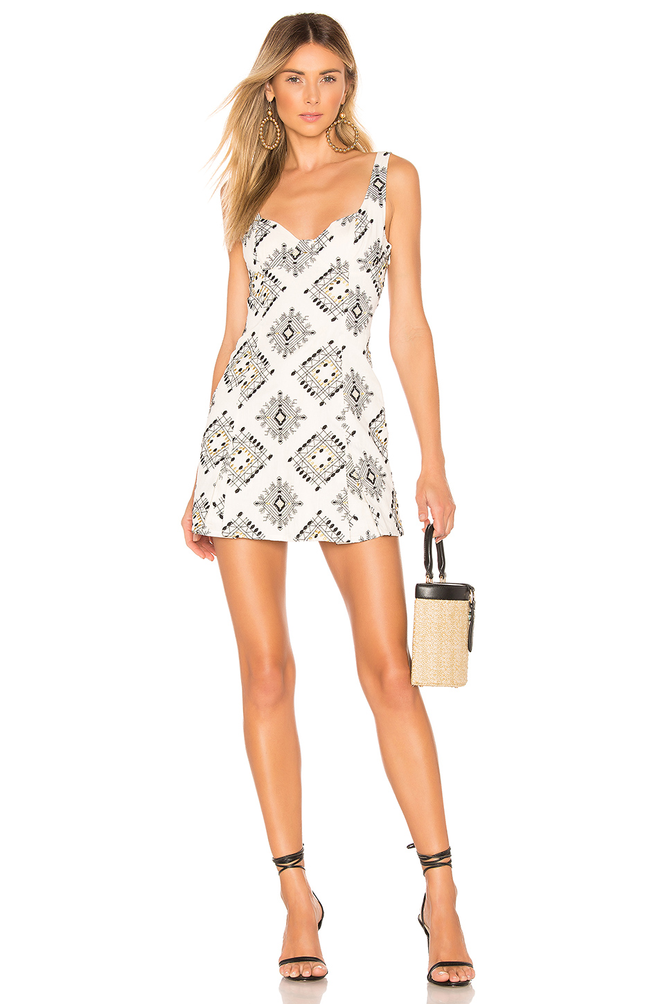 2f67c65bc3a0 House Of Harlow 1960 X Revolve Addie Dress In Ivory. In White | ModeSens
