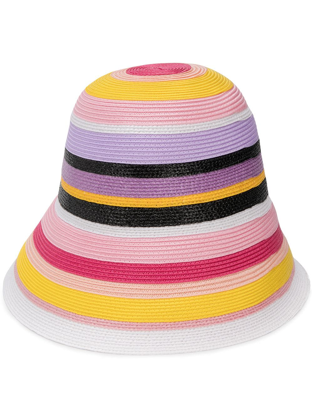 0935dbb5ef1fd Emilio Pucci Striped Hat In Pink