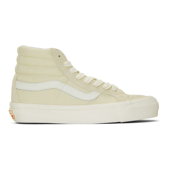 f4f72fad03 Vans Off-White Og Sk8-Hi Lx Sneakers In Seedpea Mar
