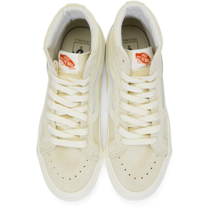 a5aa9c7a4a Vans Off-White Og Sk8-Hi Lx Sneakers In Pearl Marsh