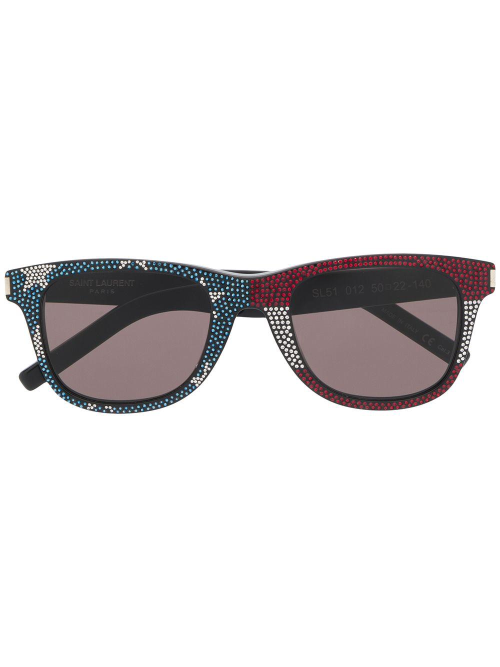 2c00917b1fbb Saint Laurent Eyewear Cl Sl 51 Us Sunglasses - Black | ModeSens