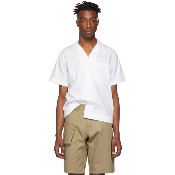 e86cf80fc39 Jacquemus White. JACQUEMUS. White  La Chemise Manches Courtes  Shirt