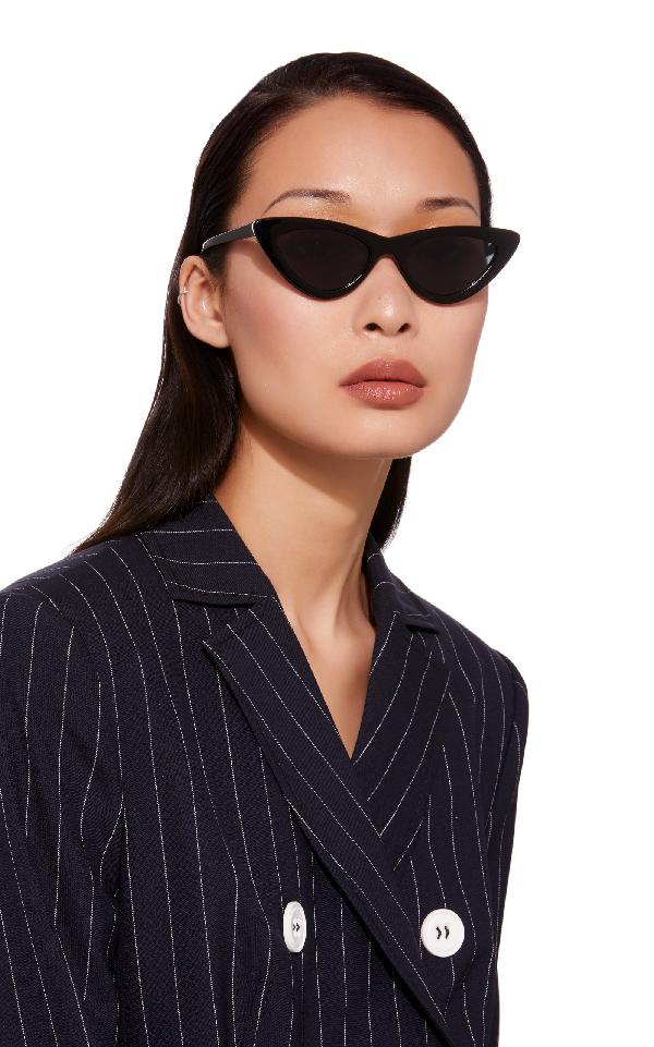 2b658f07d5 Le Specs X Adam Selman Last Lolita 49Mm Cat Eye Sunglasses - Black ...