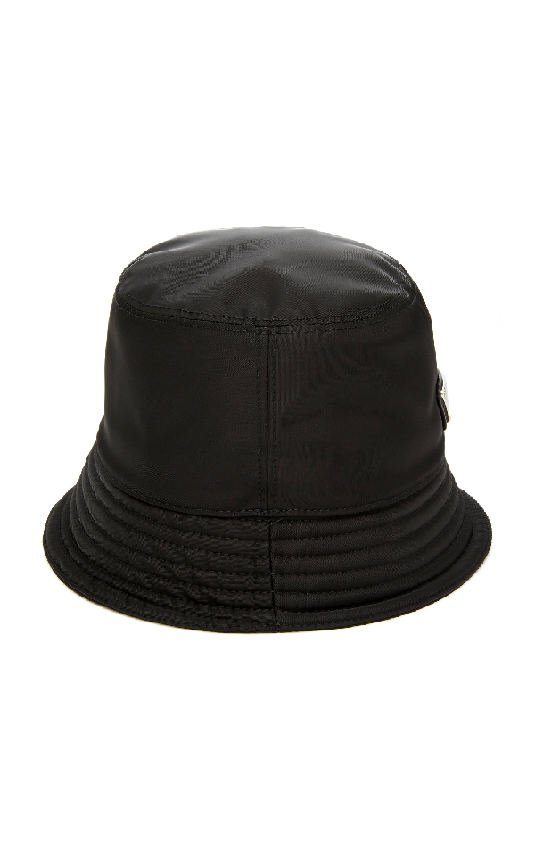 b5dd1df1b28de Prada Men s Nylon Bucket Hat With Logo