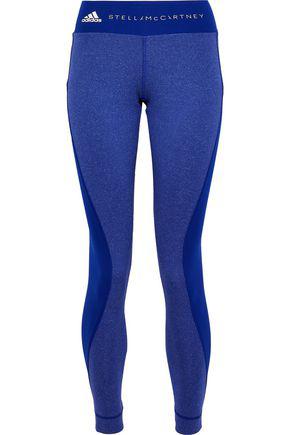 df58f7a7741d9 Adidas By Stella Mccartney Woman Paneled Printed Stretch Leggings Royal Blue