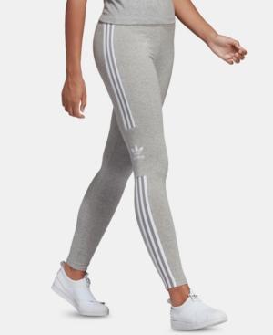 545c87c452cb9 Adidas Originals Women's Originals Trefoil Leggings, Grey In Medium Grey