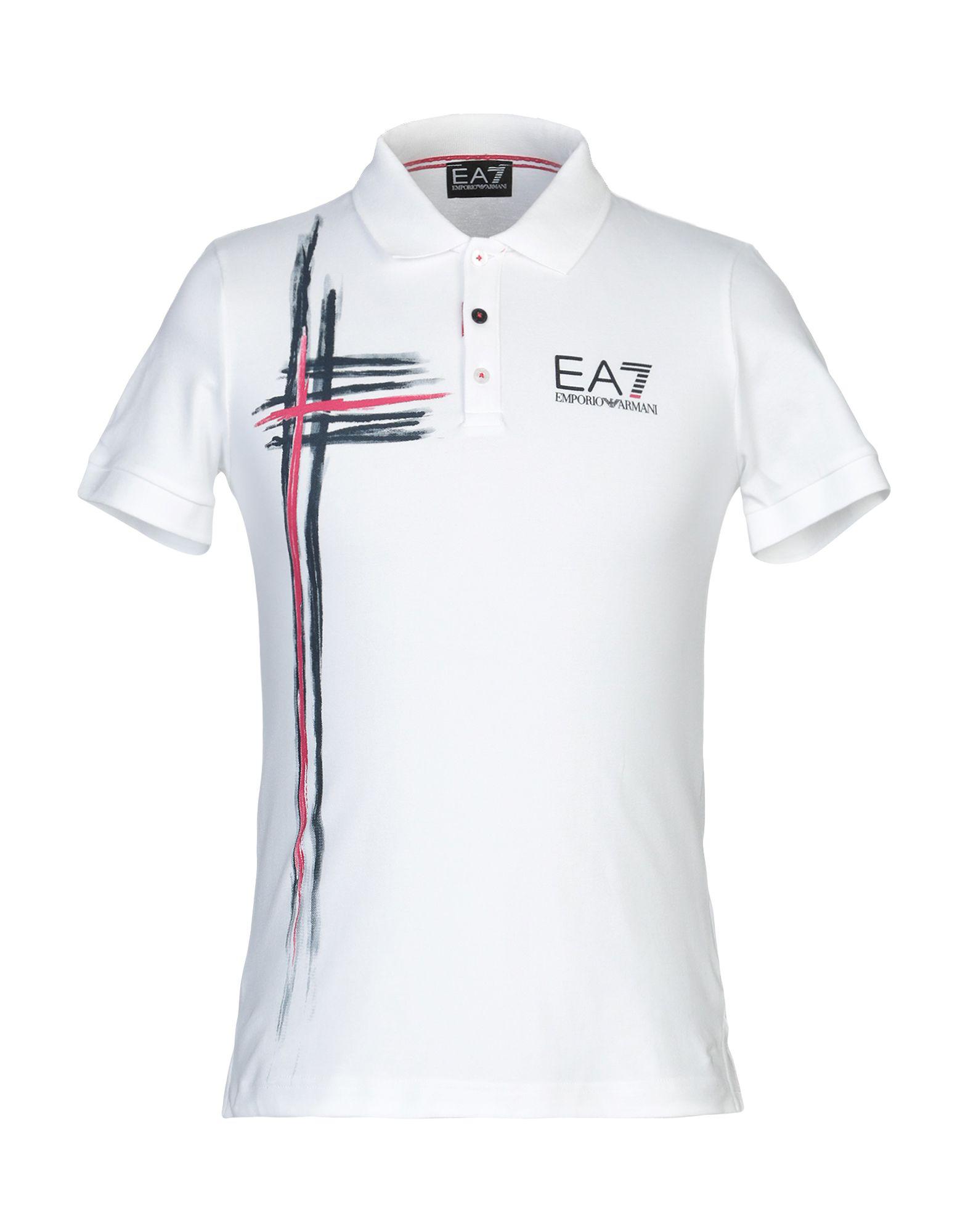 de8700d7 Ea7 Polo Shirt In White   ModeSens