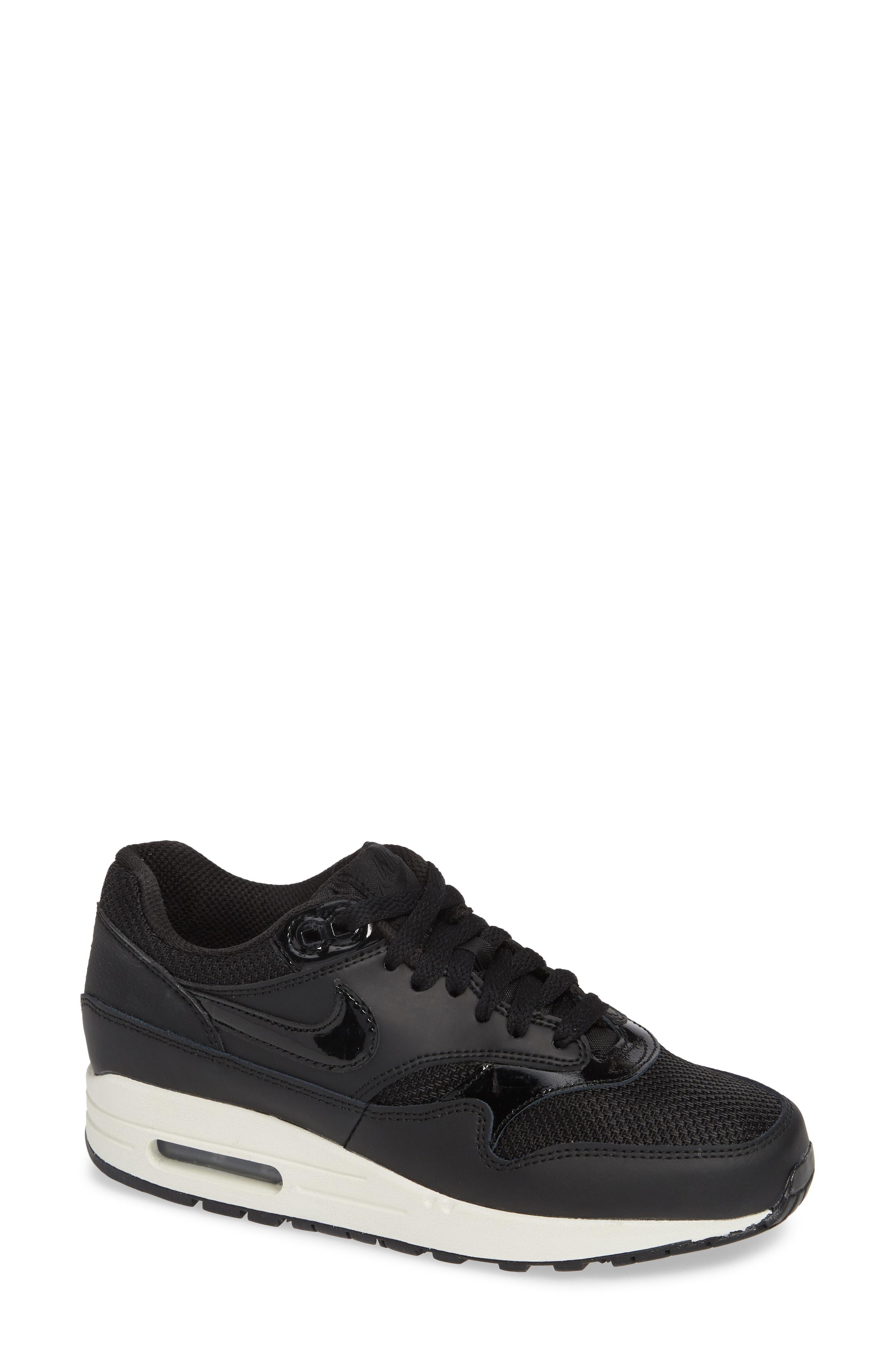 newest 6b233 4b40f Nike Air Max 1 Nd Sneaker In Black  Black-Black- White