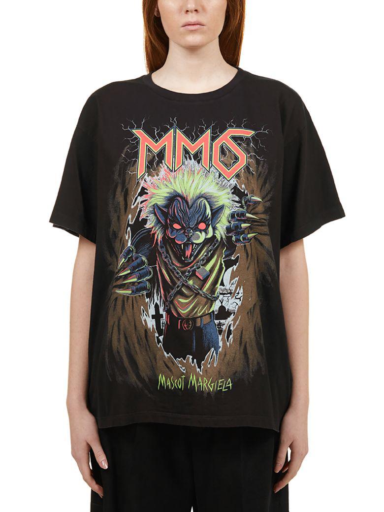 8cf98a44 MM6 MAISON MARGIELA. Mm6 Maison Margiela Mascot Print T-Shirt ...