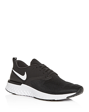 b35ae3f84df2 Nike Men s Odyssey React Flyknit 2 Running Sneakers From Finish Line In  Black White