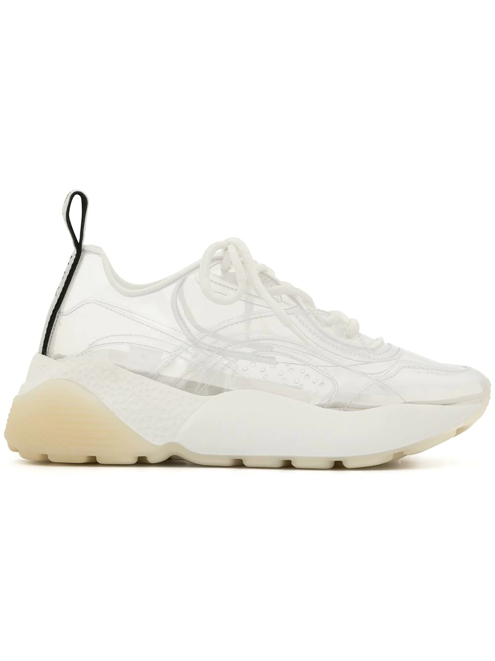 a1dc97b46cd79 Stella Mccartney Eclypse Faux Leather-Trimmed Pu Sneakers In White ...