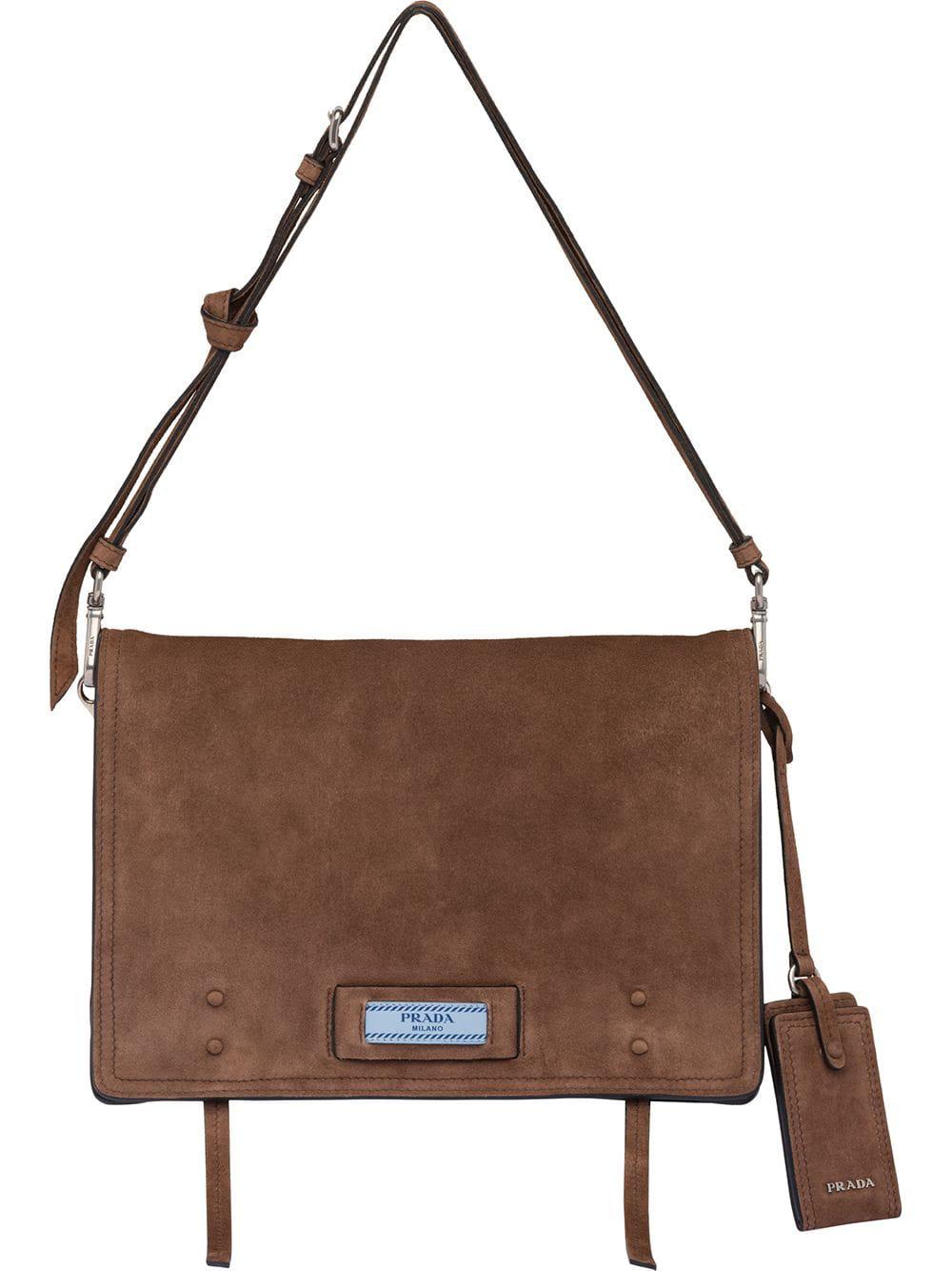 0bb4e56ae333 Prada Etiquette Shoulder Bag - Brown | ModeSens