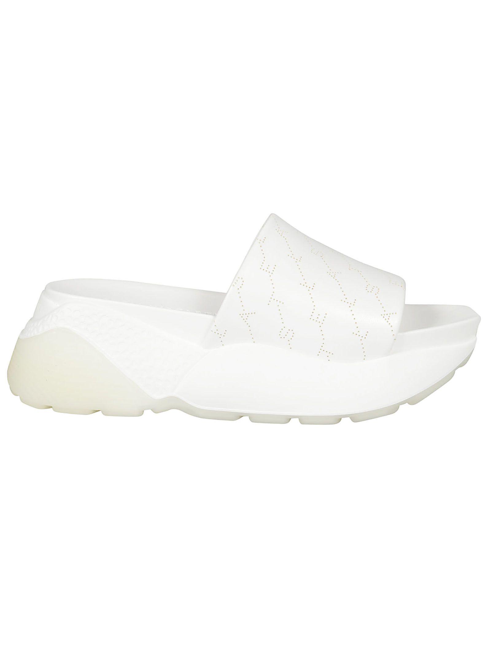 c0d58a487edd Stella Mccartney Women s Rubber Slippers Sandals Eclypse In White ...