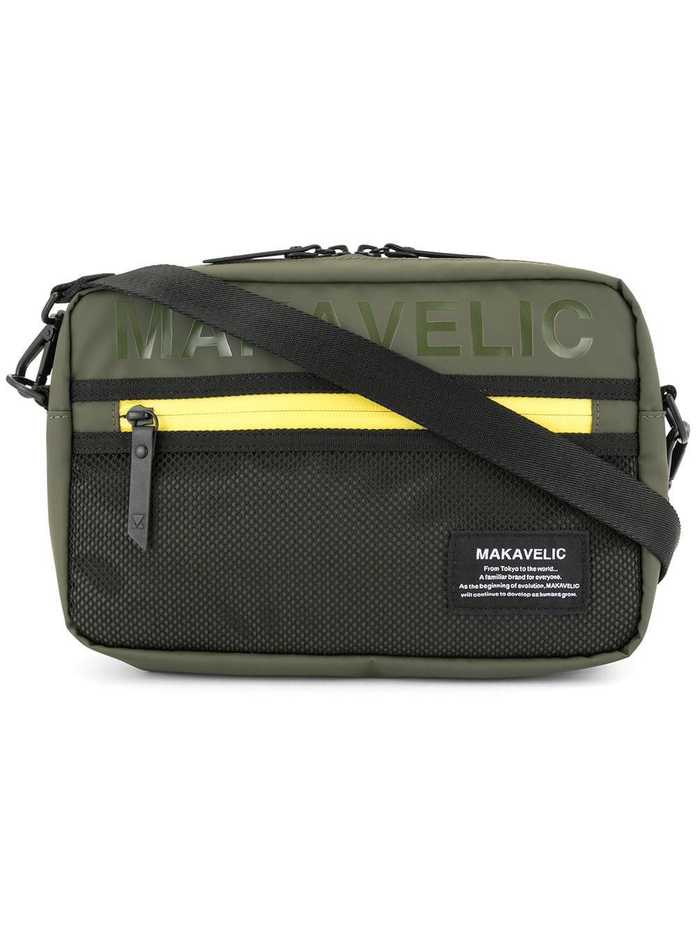 e54a3a06f8 Makavelic Small Cross Body Bag - Green | ModeSens