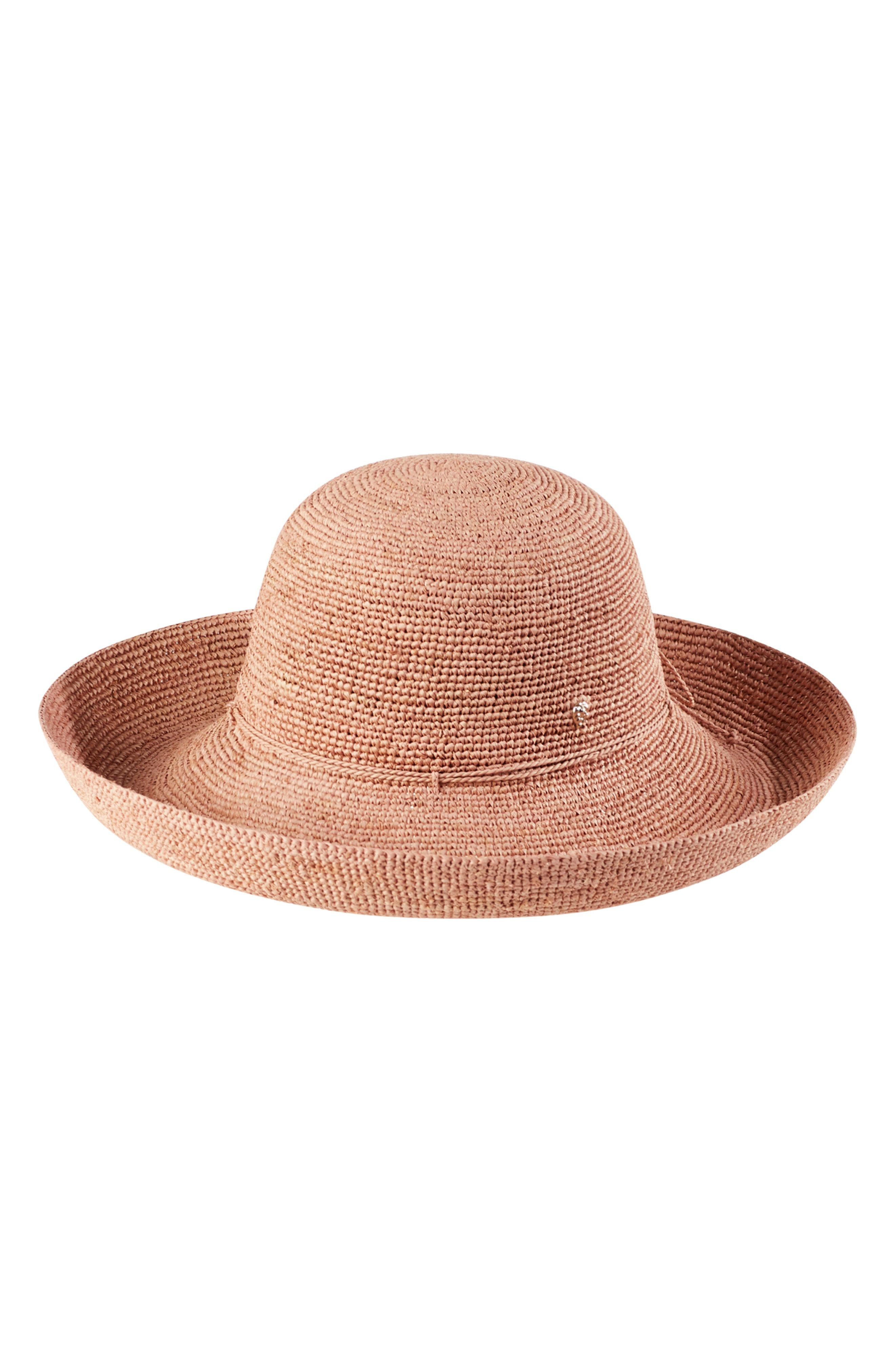 f1a9ea6505fff Helen Kaminski  Provence 12  Packable Raffia Hat In Light Musk ...