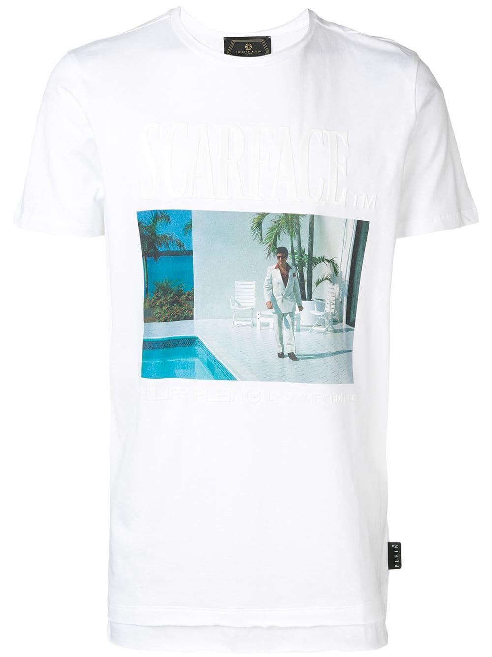 c4ab0916 Philipp Plein Scarface T-Shirt - White In 01 White | ModeSens