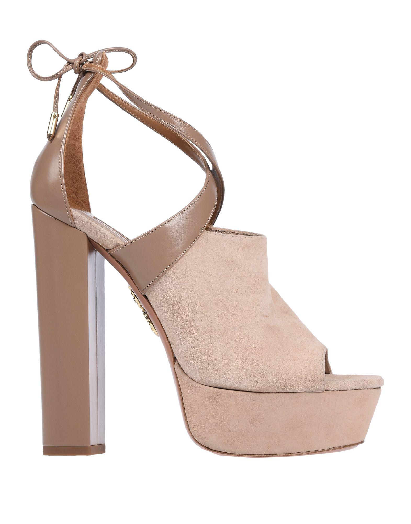 bd4e62e2f8da Aquazzura Sandals In Beige. yoox.com