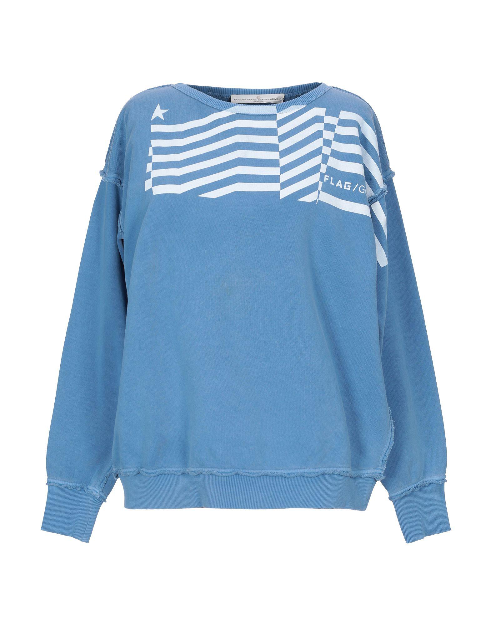 ea0c2d3d7dfd Golden Goose Sweatshirts In Slate Blue