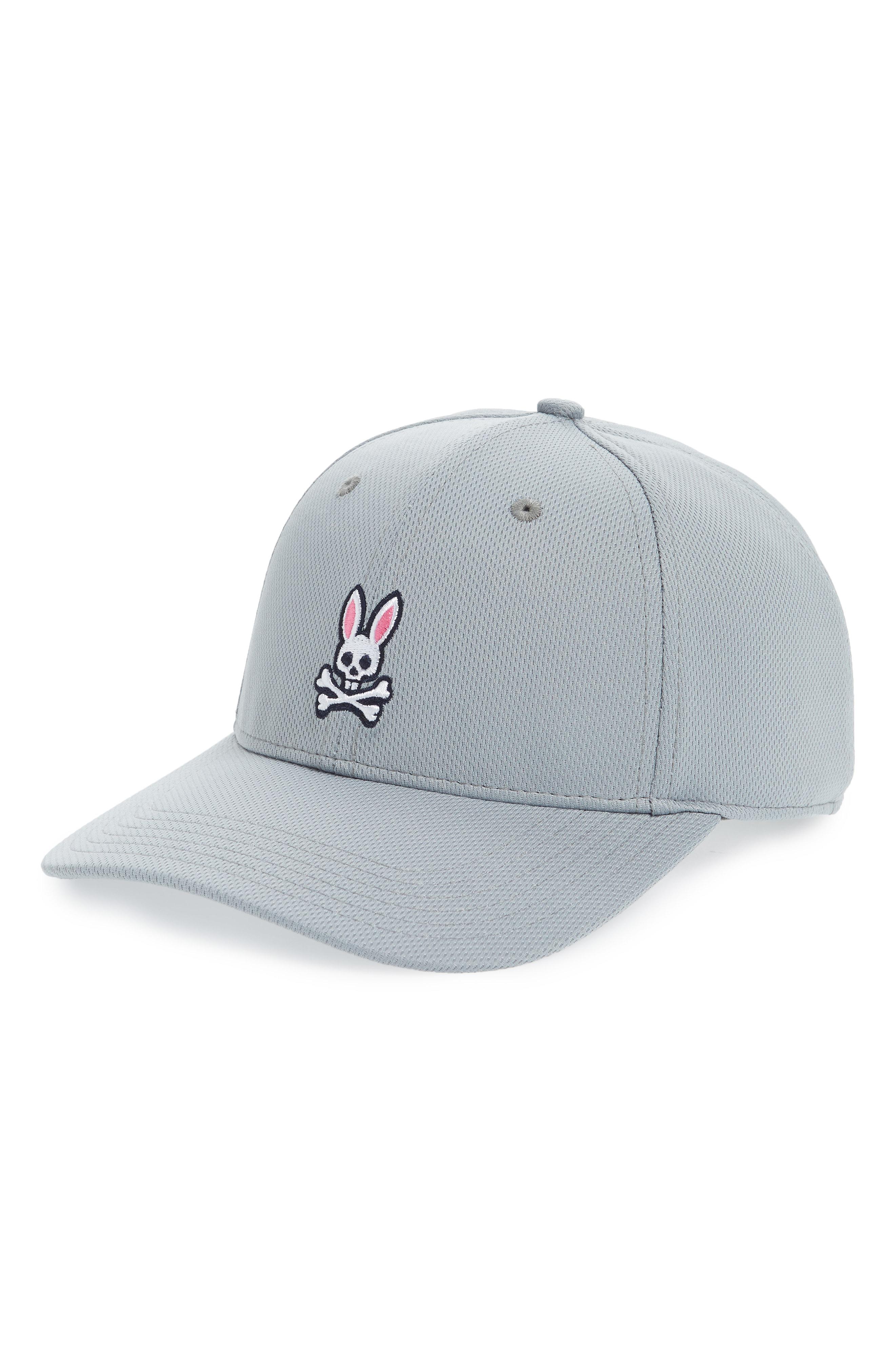 16a868d5763 Psycho Bunny Sport Ball Cap - Grey In Shark