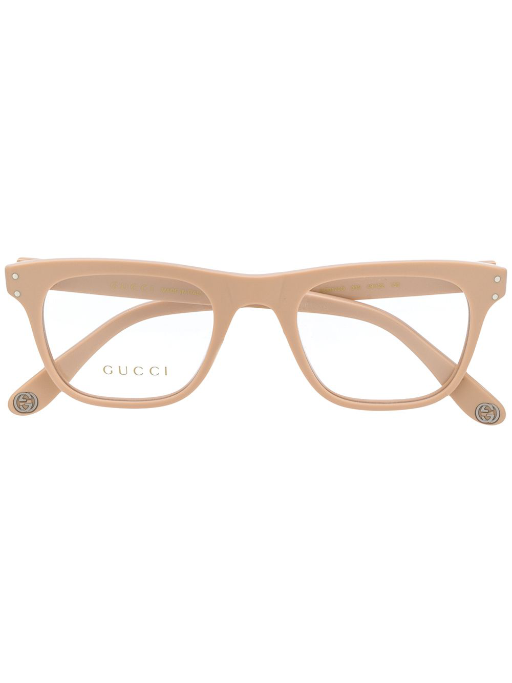 5a305fa6d9a Gucci Eyewear Classic Mass-Shape Glasses - Neutrals