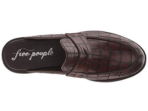 73f0c2babf7 Free People Rowan Penny Loafer Mules In Brown