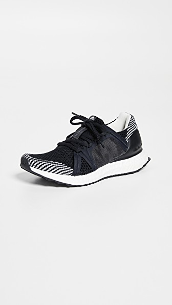 1ba223e96b441 Adidas By Stella Mccartney Ultraboost Stretch-Knit Sneakers In Black White  Granite