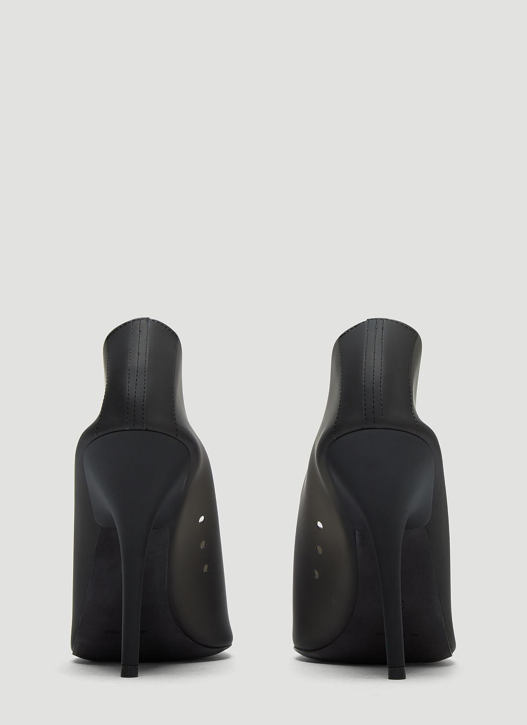 32e81abaf883 Yeezy Semi Opaque Pvc Pumps In Black