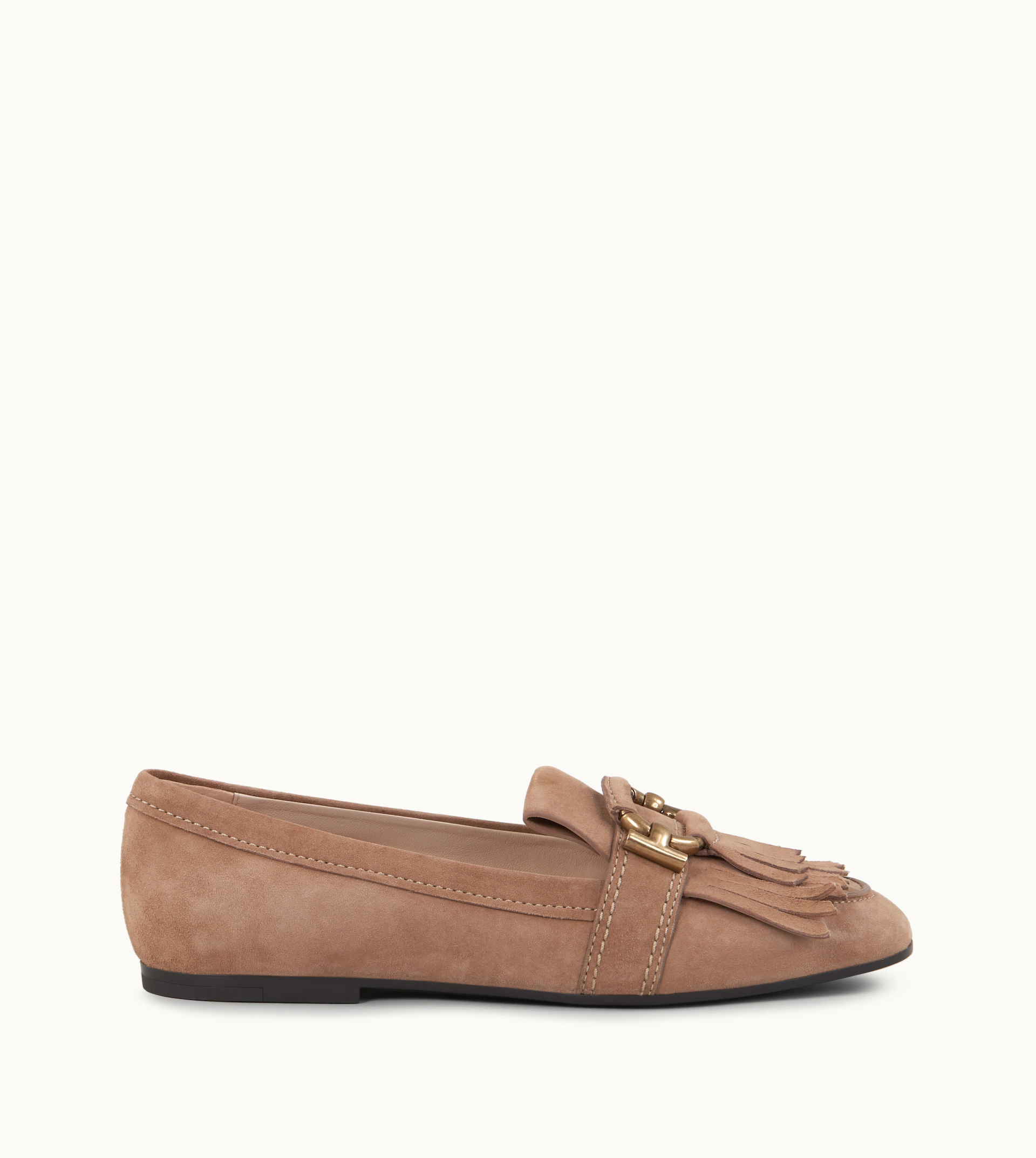 2655260c3029b Tod's Women's Suede Loafers Moccasins Gommini In Brown | ModeSens