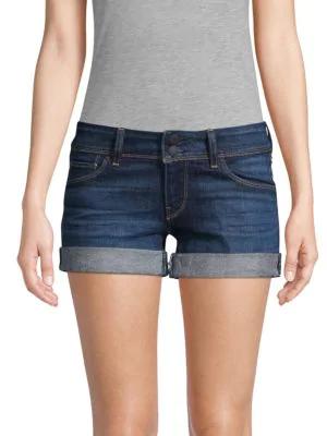 68b415b2d5 Hudson Croxley Cuffed Denim Shorts In Nightfall | ModeSens