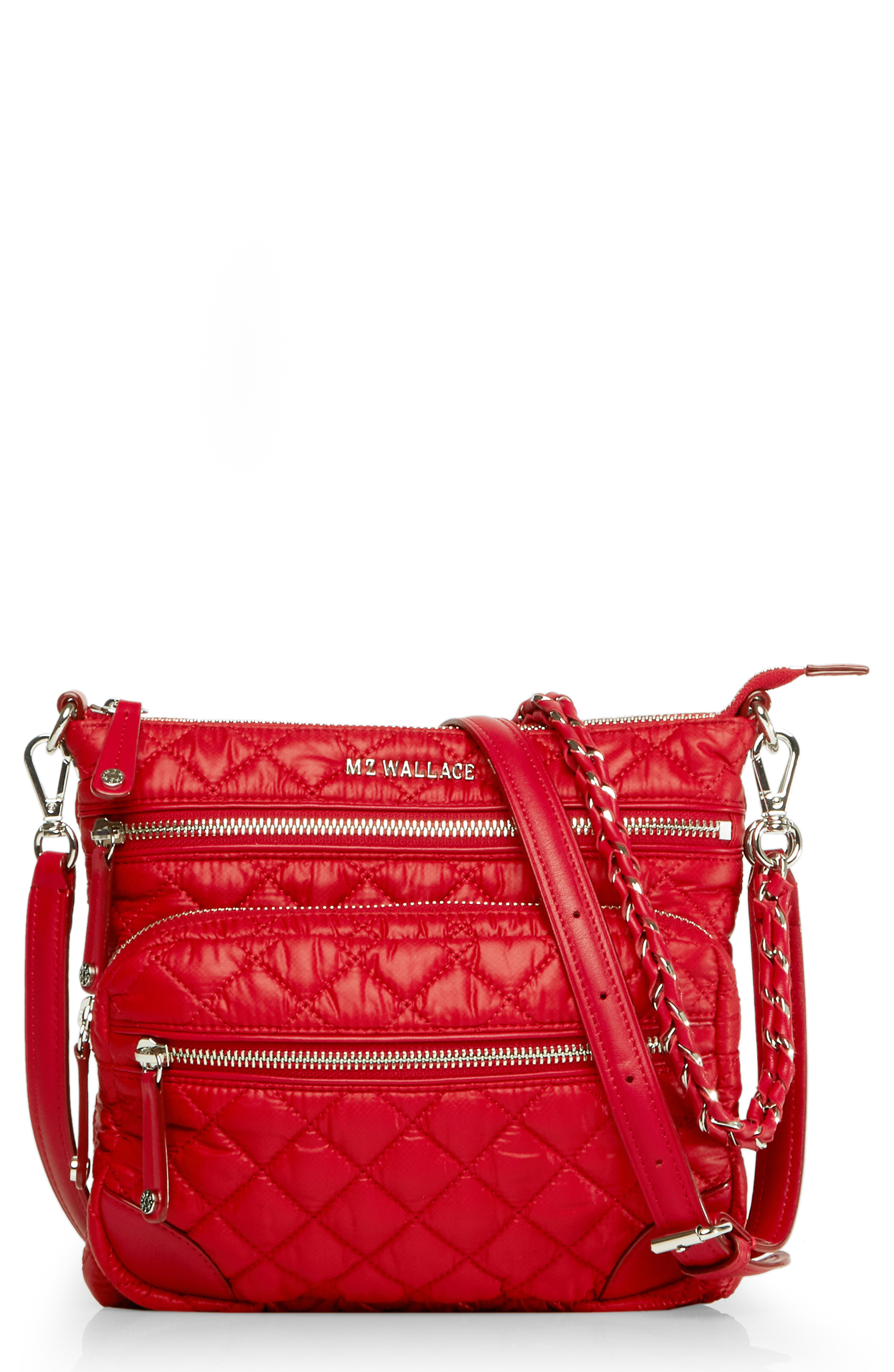 b8d092ce29 Mz Wallace M Z Wallace Downtown Crosby Crossbody Bag - Red In Apple ...