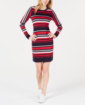 93cc23f25 Tommy Hilfiger Striped Elbow-Cutout Dress