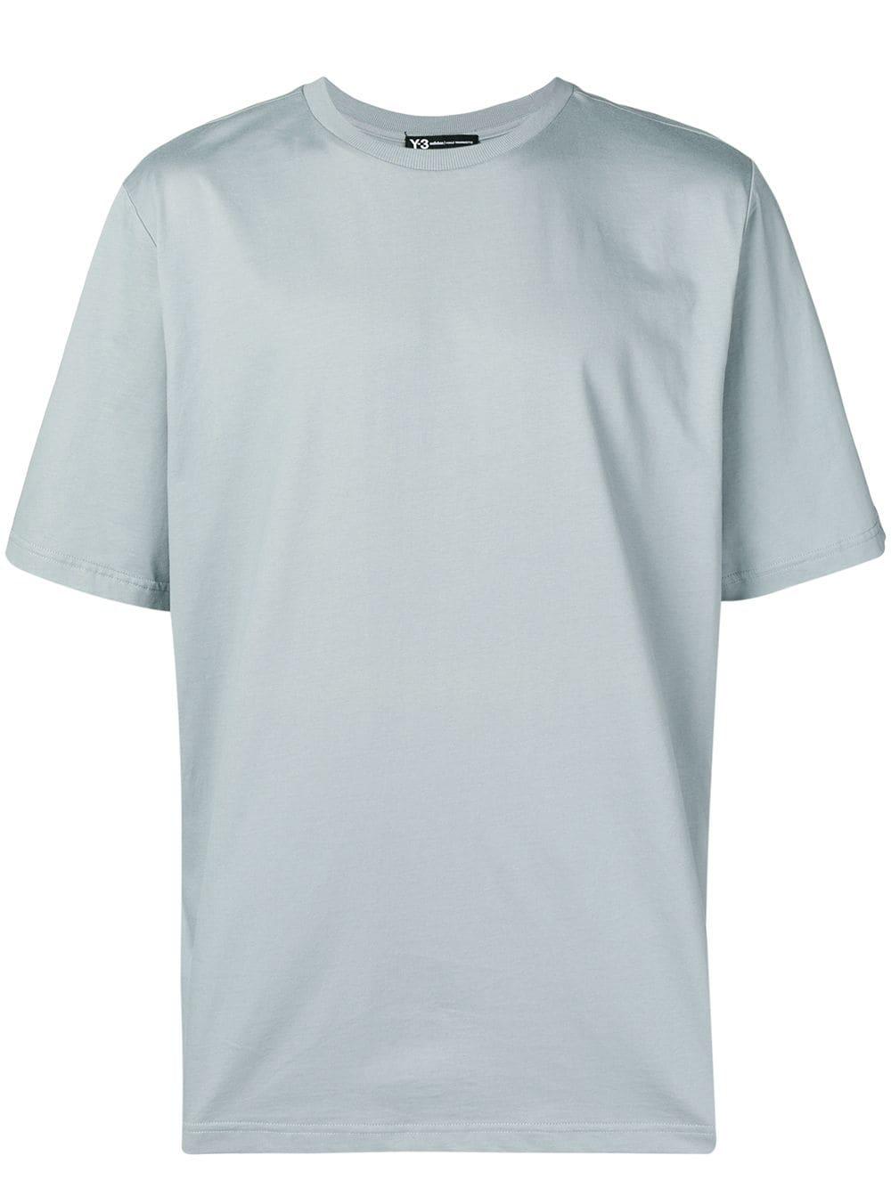 e845ba326 Y-3 Skull Logo Print T-Shirt - Grey | ModeSens