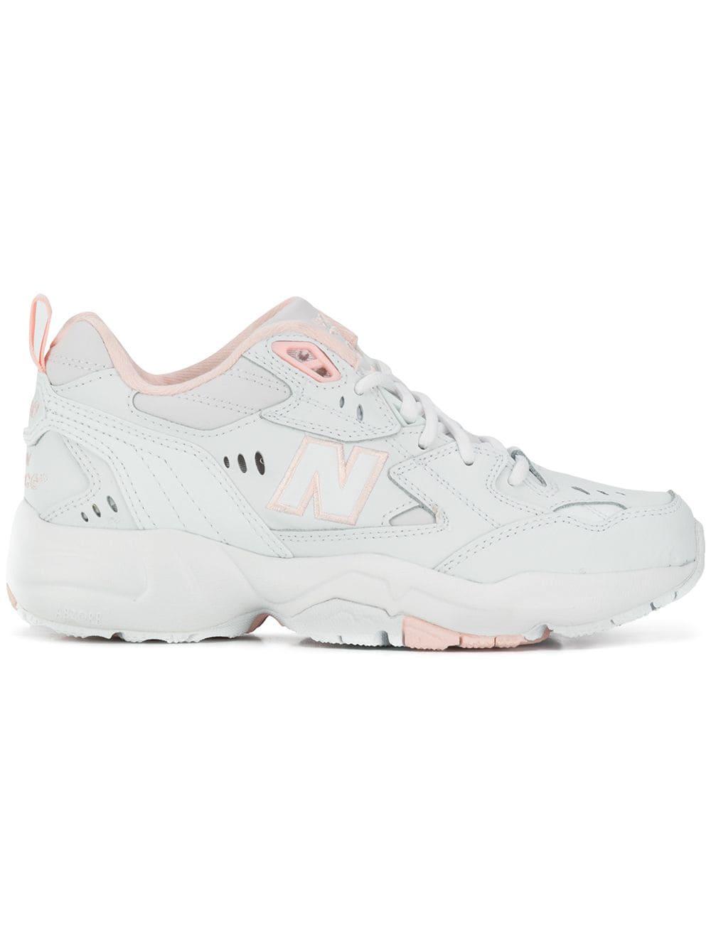 Stima Richiamare fare ricorso  New Balance 608v1 Lace-up Sneakers In White | ModeSens